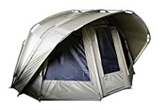 "MK Fishing ""Fort Knox 2.0"" 3.5 Man Dome Tent Carp Tent Fishing Tent incl. rubberen hamer*"