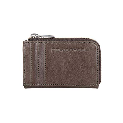 Cowboysbag Herren Geldbörse Portemonnaie Wallet Upton Stormgrey Grau 2217