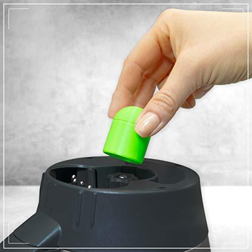 coolina® Teig-Ex Teiglöser, passend für Thermomix TM6 TM5 - Farbe: Greeny Gecko