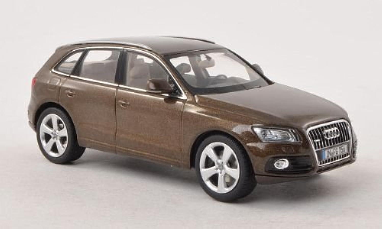 Audi Q5, met.brown , 2012, Modellauto, Fertigmodell, Schuco 1 43