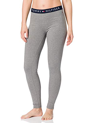 Tommy Hilfiger Legging Leggings, Oscuro/Gris/Htr, XS para Mujer
