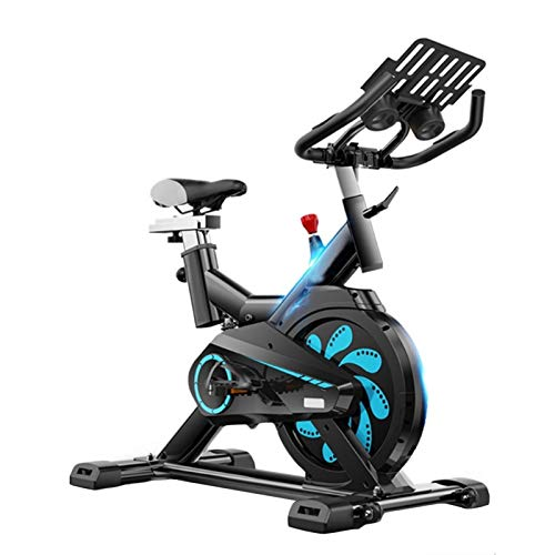 Silent Spinning Bike,Exercise Bike With Smart APP Game,Home Magnetic Control Weight Loss Device,Full Body Exercise Gym,Black