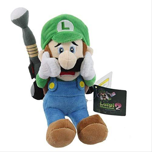 Ggwdta Juguete de Peluche de Super Mario Luigi, Lindo Juguete de decoración de...