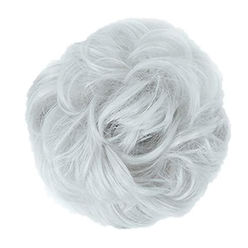 extension a clip cheveux naturel rajout cheveux clip naturel Cheveux extensions de vrais cheveux humains grey