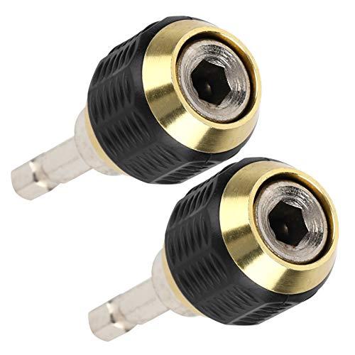 Cosiki Adaptador de portabrocas, Rendimiento Estable Fácil de Usar Adaptador de Destornillador de Impacto Duradero, para Taladro Manual eléctrico doméstico