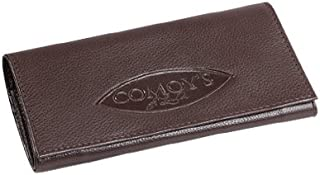 Comoy's Leather Pipe Tobacco Pouch ~ Choose Your Style (Millenium Brown Roll-up)