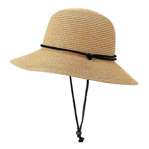 Xiangdanful Fischerhut Damen Eimer mit Bucket Hat Anglerhut Sun Hat Sommer Outdoor Faltbare Atmungsaktive Sonnenhüte Sommerhut Strandhut für Damen