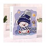 ASHDZ 6インチアルバムブックインサートタイプ100 4D箱入り家族の赤ちゃんの成長アルバムの誕生日プレゼント七夕バレンタインデーは、友人を送信するためにガールフレンドを送信(6インチ100枚) (Color : C)