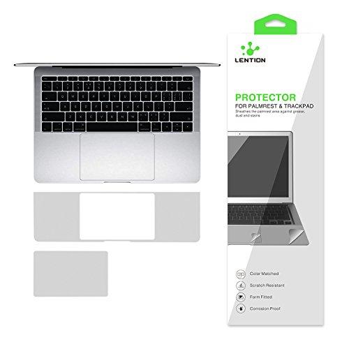 『NEW 13インチMacBook Pro 2016-2019 トラックパッド保護フィルム 内側保護シール (シルバー)』の4枚目の画像