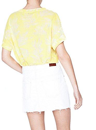 Minifalda Vaquera Dani Pepe Jeans Blanca M DENIM