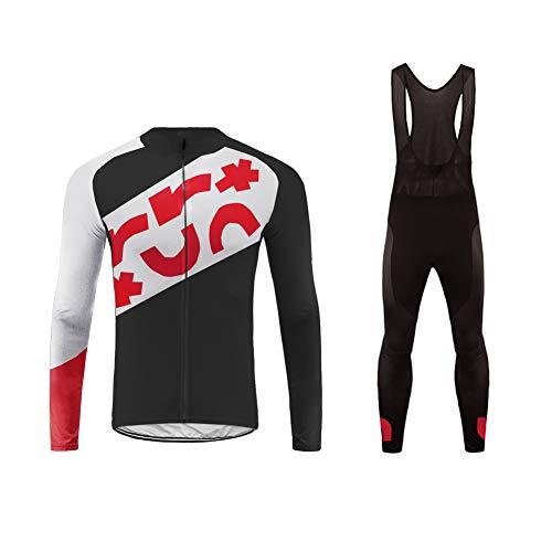 Uglyfrog Mountain Bike Jersey Long Bib Pant Set Comfortable for Outdoor Wear Suit01