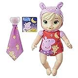 Muñeca de Peppa, Buenas Noches, de Baby Alive, Juguete de Peppa Pig, Primera muñeca bebé, Cuerpo blandito, para niños a Partir de 2 años, Rubia
