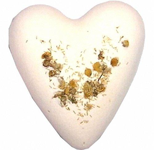 Cœur de bain - Camomille et miel
