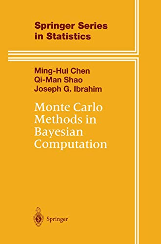Monte Carlo Methods in Bayesian Computation (Springer Series in Statistics)の詳細を見る