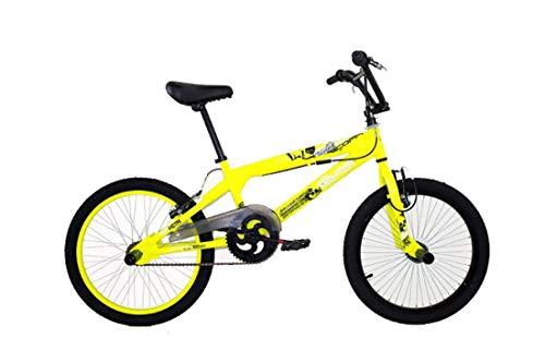 Coppi Bicicletta BMX 20' Freestyle Street Fighter Giallo
