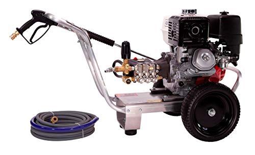PressurePro E4042HV Eagle Series Cold Water Direct Drive Pressure Washer, 4200 PSI, 4.0 GPM, GX390 Honda Engine, Viper Pump
