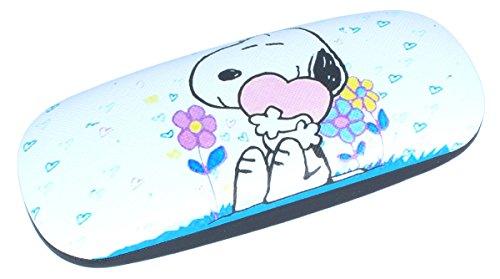 Snoopy - Funda para gafas infantiles con bisagra de metal