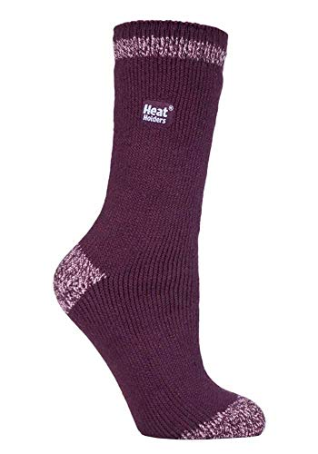 HEAT HOLDERS - Damen Warme Streifen Winter Thermosocken Socken Bunte Muster 37-42 eur (Gilmorton)