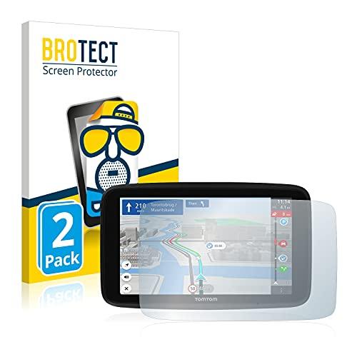 BROTECT 2X Entspiegelungs-Schutzfolie kompatibel mit Tomtom GO Discover 7