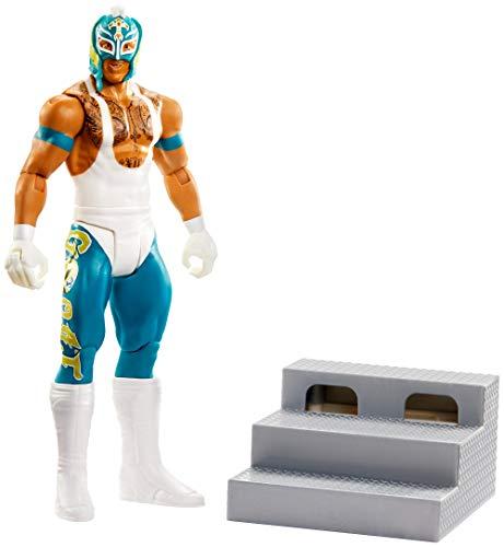 WWE GLG07 - WWE Wrekkin' 15 cm große Rey Mysterio Actionfigur mit zerstörbarem Zubehör