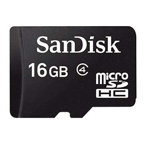 Carte Mémoire MicroSDHC SanDisk 16 Go Classe 4 SDSDQM-016G - B35A