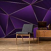 mzznz カスタム大壁画画家光高級モダンミニマリストレトロな抽象的な幾何学的なライン北欧背景壁紙-120X100Cm