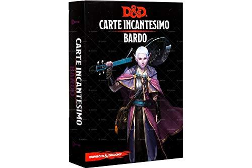Asmodee Italia- Dungeons & Dragons 5a Edición Mapa Incantesimo Bardo, Color, 4008