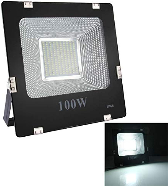 Warmhome Einfach 100W 180 LED SMD 5730 9000 LM IP66 wasserdichtes LED-Flutlicht, AC 85-265V, wasserdichtes Flutlicht im Freien Stabil
