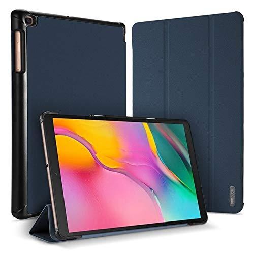 Dux Ducis - Funda para Samsung Galaxy Tab A 10.1 (2019) - Domo Book Case - Triple Cover - Azul