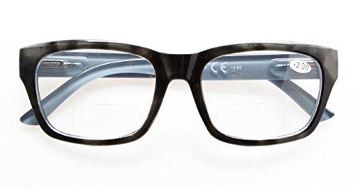 Eyekepper Polycarbonate Large Lens Line Bifocal Glasses Readers Men...