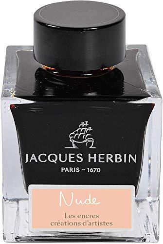 J. Herbin Jubiläumstinte -1670- Nude dArtistes 50 ml, hochwertige Füllertinte Tinte