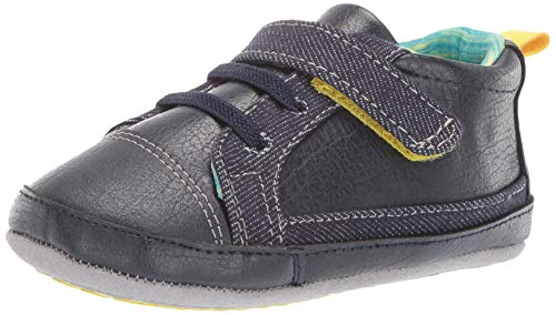 Ro + Me by Robeez Unisex-Child Parker Sneaker Crib Shoe