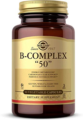 Solgar Vitamin B-Complex ''50'' Vegetable Capsules - Pack of 50