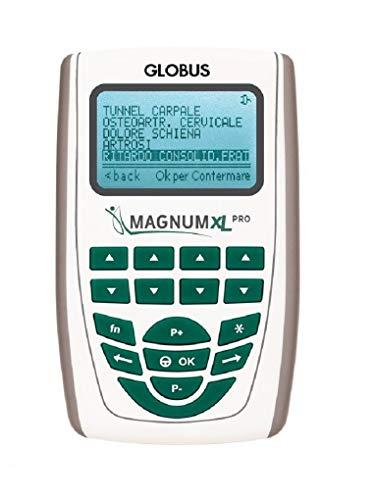 Globus G3956, Magnum XL PRO solenoidi Morbidi Unisex Adulto, Argento, Unica