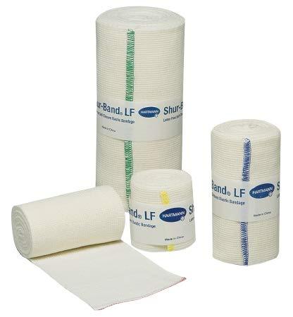 Hartmann 59560000 Shur-Band Latex-Free Self-Closure Elastic Bandage, 6' Width, 5 yd. Length (Pack of 10)