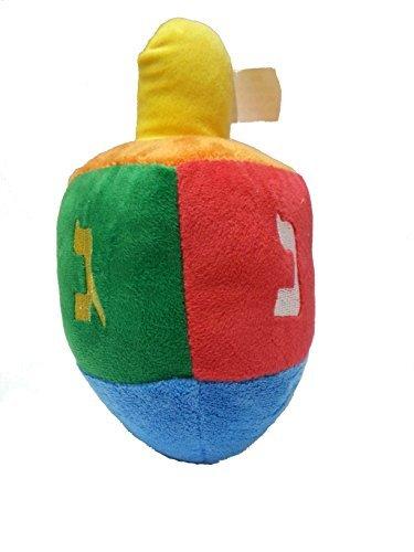 Plush Hanukkah Dreidel Toy For Infant with Rattle