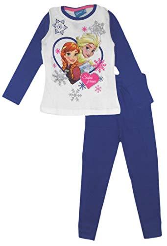 Disney Frozen Sister and Queen - Pijama para niña Azul (