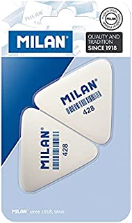 Milan BMM9358 vlakgom, 2 stuks