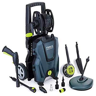 Norse SK125 High Powered Electric Pressure Washer 2350 PSI / 160 Bar from Norse