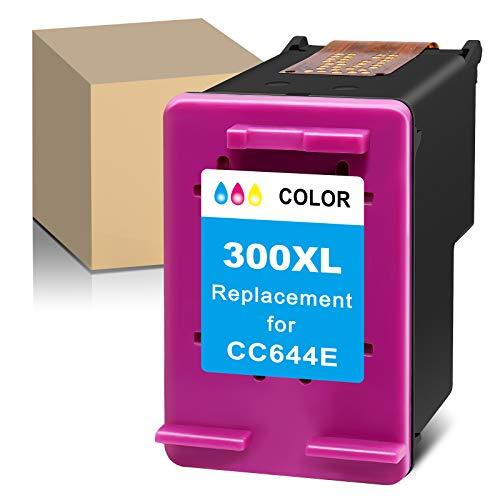 ATOPolyjet Cartuchos de tinta remanufacturados para HP 300 XL Combo Pack Uso con HP ENVY 100 110 111 114 120 121 Deskjet D1620 D1630 D1658 D1660 D1663 D1668 PhotoSmart C4600 C4610 0 C46 35 (1 color).
