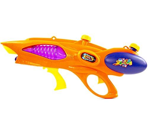 XXL waterpistool kinderspeelgoed waterspuit zomerspeelgoed pistool watergeweer aqua-gun zwembadkanon kinderbadpistool tuinfeest speelgoed wapen zwembad gunn 58 cm