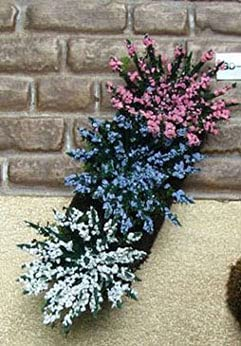 factorydirectcraft Garden Delights - Pink Long Beach Mall Blue discount Each White 2
