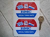 BMC Special Tuning Barrel Static Cling Sticker ステッカー デカール シール 海外限定 87mm x 62mm [並行輸入品]