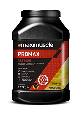 MAXIMUSCLE Promax Powder Banoffee Flavour,1.12 kg