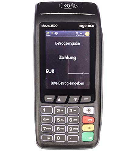 Kartenterminal Ingenico Move 3500 WLAN EC Lesegerät