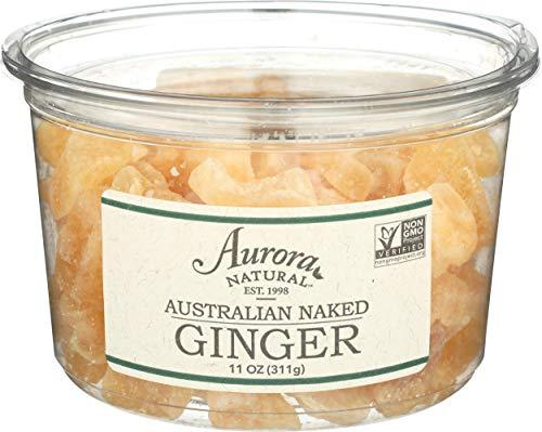Australian Crystallised Ginger Chunks, 11 OZ