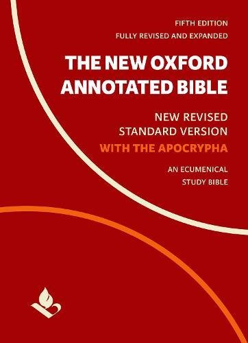 Compare Textbook Prices for The New Oxford Annotated Bible with Apocrypha: New Revised Standard Version 5 Edition ISBN 9780190276089 by Coogan, Michael,Brettler, Marc,Newsom, Carol,Perkins, Pheme