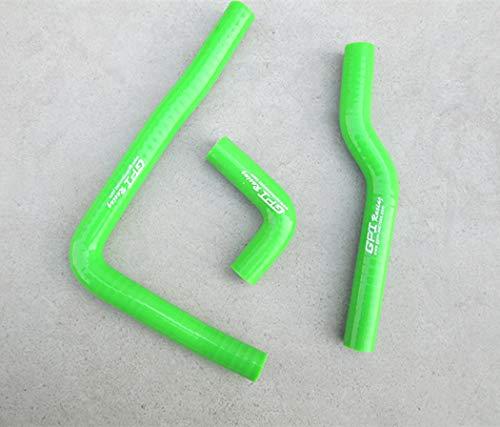 Green silicone radiator hose for KAWASAKI KX65 KX 65 2000-2012 2002 2003 2004 2005 2006 2007