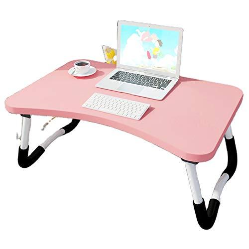Cama uso de la mesa del ordenador portátil cómodo diseño moderno plegable portátil escritorio de la computadora de soporte plegable de la PC de la Mesa de la Sala de los Muebles