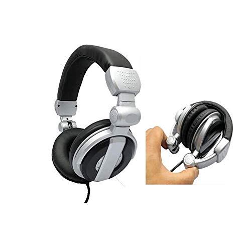 WAJI Gaming Headset mit USB 7.1-Kanal-Surround-Kopfhörer Gaming-Stirnband, Noise Cancelling-Mikrofon und Lautstärkeregler für den PC